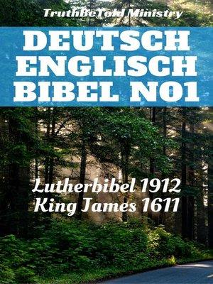 cover image of Deutsch Englisch Bibel No1
