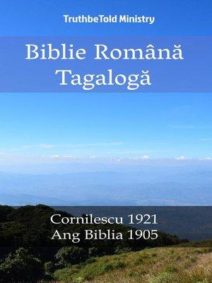 cover image of Biblie Română Tagalogă