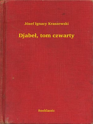 cover image of Djabeł, tom czwarty