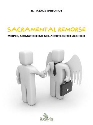cover image of Sacramental Remorse