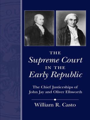 cover image of The Supreme Court in the Early Republic