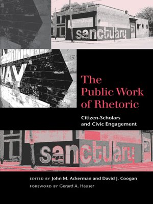 cover image of The Public Work of Rhetoric