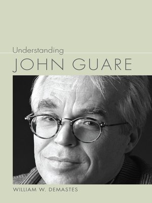 cover image of Understanding John Guare
