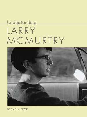 cover image of Understanding Larry McMurtry