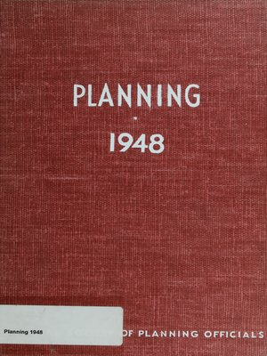 cover image of Planning 1948