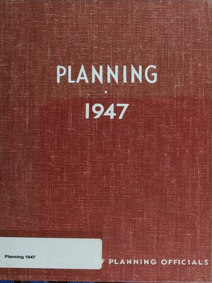cover image of Planning 1947