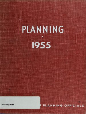 cover image of Planning 1955