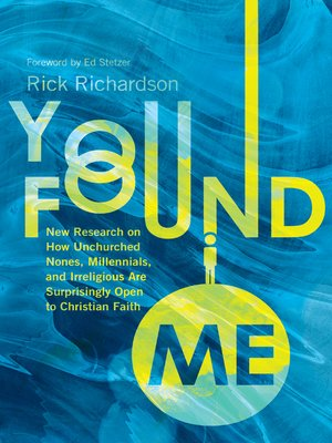 cover image of You Found Me