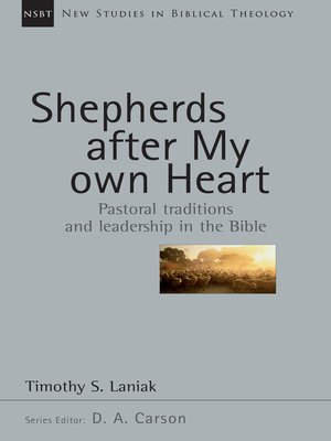 cover image of Shepherds After My Own Heart