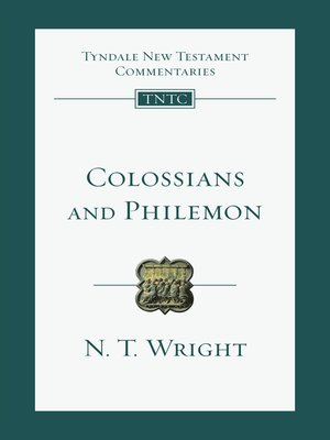 cover image of Colossians and Philemon