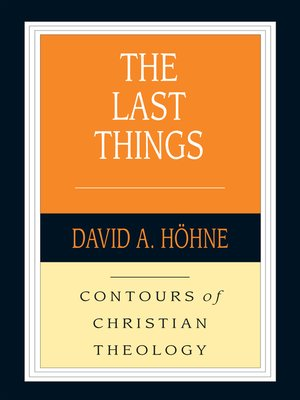 cover image of The Last Things