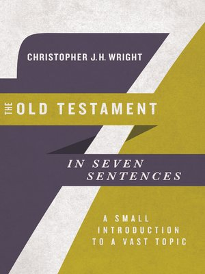 cover image of The Old Testament in Seven Sentences