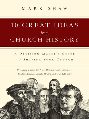 cover image of 10 Great Ideas from Church History