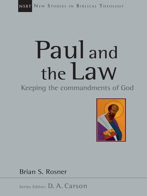 cover image of Paul and the Law