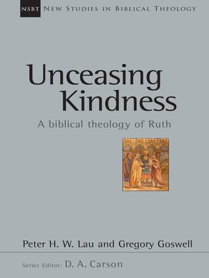 cover image of Unceasing Kindness