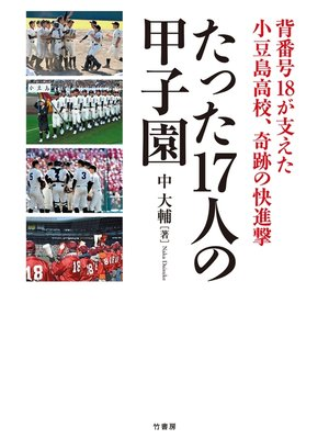 cover image of たった17人の甲子園
