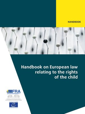 cover image of Handbook on European law relating to the rights of the child