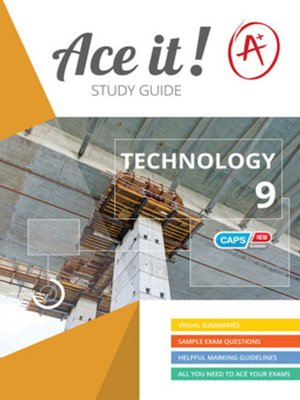 cover image of Ace It! Technology Grade 9