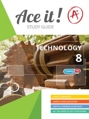 cover image of Ace It! Technology Grade 8