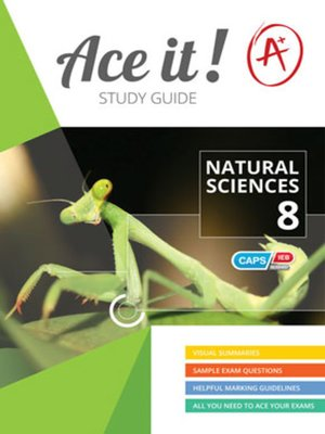 cover image of Ace It! Natural Sciences Grade 8