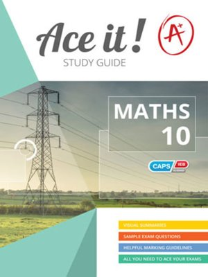 cover image of Ace It! Mathematics Grade 10