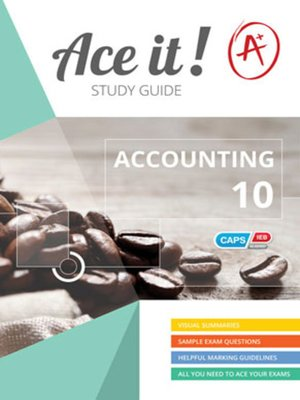 cover image of Ace It! Accounting Grade 10
