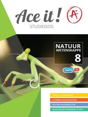 cover image of Ace It! Natuur Wetenskappe Graad 8