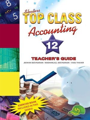 cover image of Top Class Accounting Grade 12 Teacher's Guide