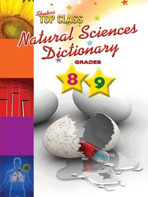 cover image of Top Class Natural Sciences Dictionary Grades 8-9
