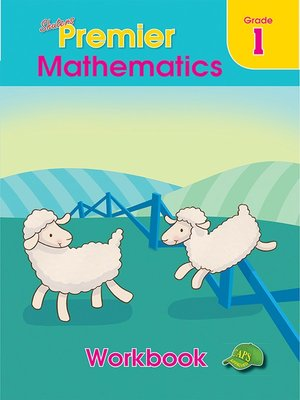 cover image of Shuters Premier Mathematics Grade 1 Workbook
