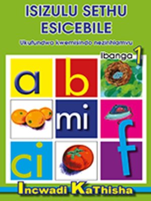cover image of Isizulu Sethu Phonics Grad 1 Teacher's Guide