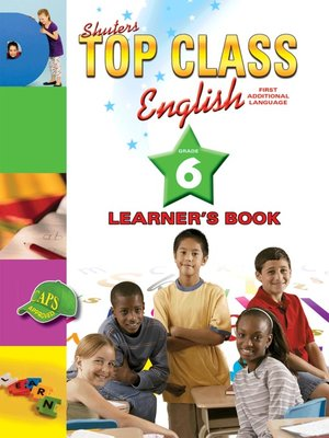 cover image of Top Class English Grade 6 Learner