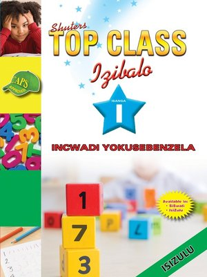cover image of Top Class Mathematics Grade 1 Workbook (Zulu)