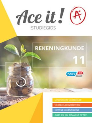 cover image of Ace It! Rekeningkunde Graad 11
