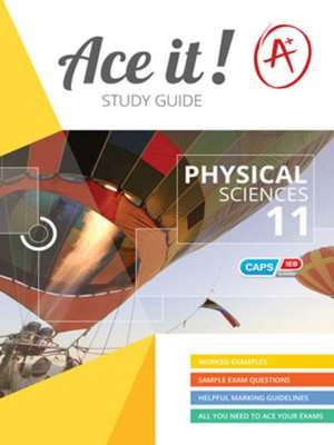 cover image of Ace It! Physical Sciences Grade 11