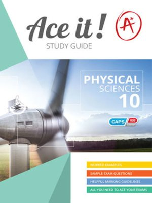 cover image of Ace It! Physical Sciences Grade 10