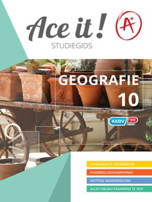 cover image of Ace It! Geografie Graad 10