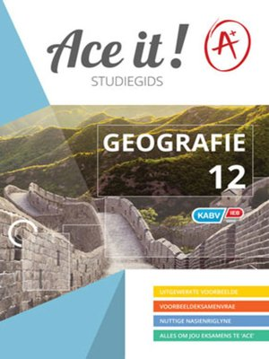 cover image of Ace It! Geografie Graad 12