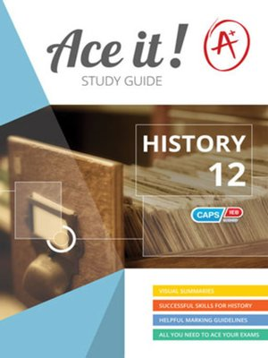 cover image of Ace It! History Grade 12