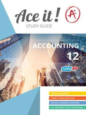 cover image of Ace It! Accounting Grade 12