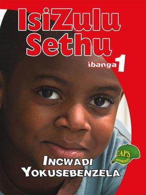 cover image of Isizulu Sethu Grad 1 Workbook