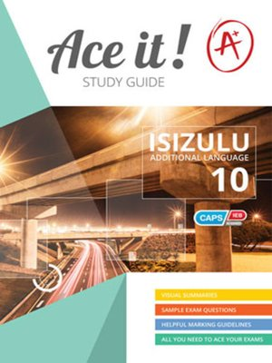 cover image of Ace It! Isizulu Fal Grade 10