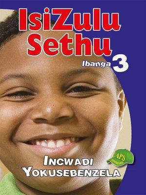 cover image of Isizulu Sethu Grad 3 Workbook