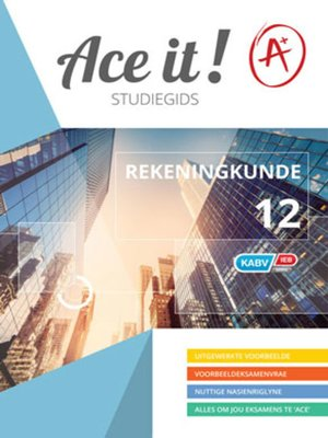cover image of Ace It! Rekeningkunde Graad 12