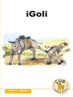 cover image of Cub Reading Scheme Level 11, Book 1: Igoli