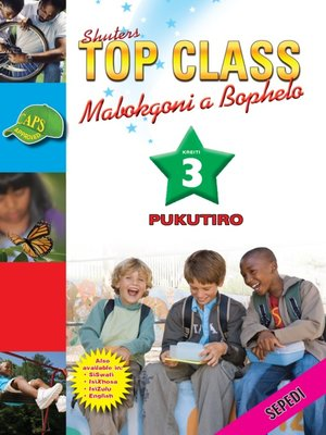 cover image of Top Class Lifskills Grade 3 Workbook (Sepedi)