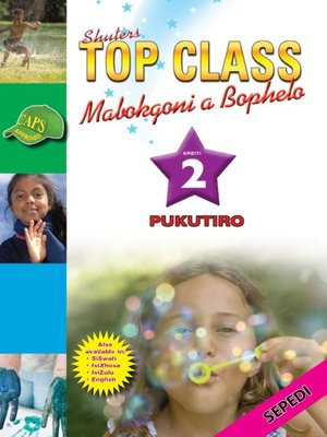 cover image of Top Class Lifskills Grade 2 Workbook (Sepedi)