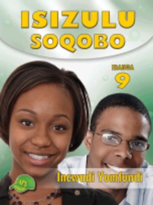 cover image of Isizulu Soqobo Grad 9 Learner's Book