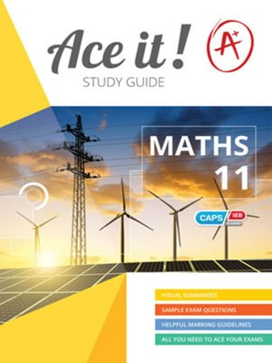 cover image of Ace It! Mathematics Grade 11