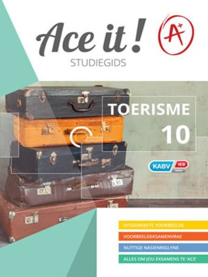 cover image of Ace It! Toerisme Graad 10
